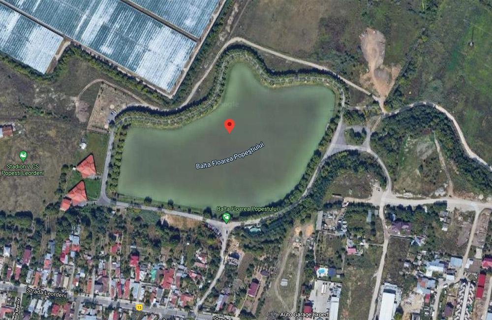 Balti de pescuit langa Bucuresti: Floarea Popestiului
