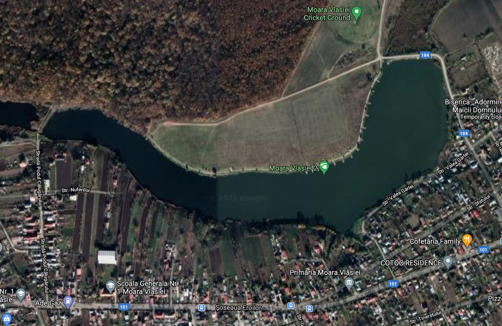 Balti de pescuit langa Bucuresti: Moara Vlasiei 2