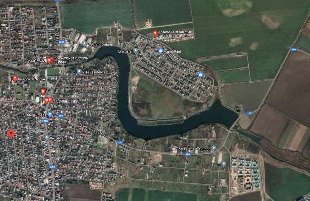 Balti de pescuit langa Bucuresti: Tunari