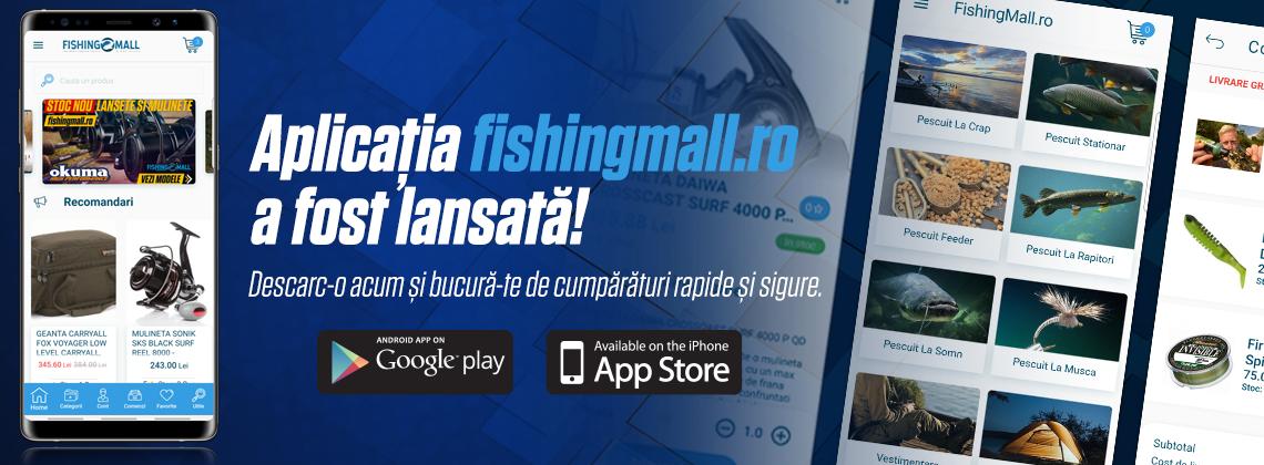 Aplicatia Fishing Mall androit apple