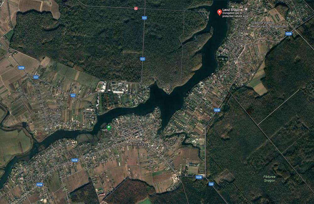 Balti de pescuit langa Bucuresti: lacul Snagov