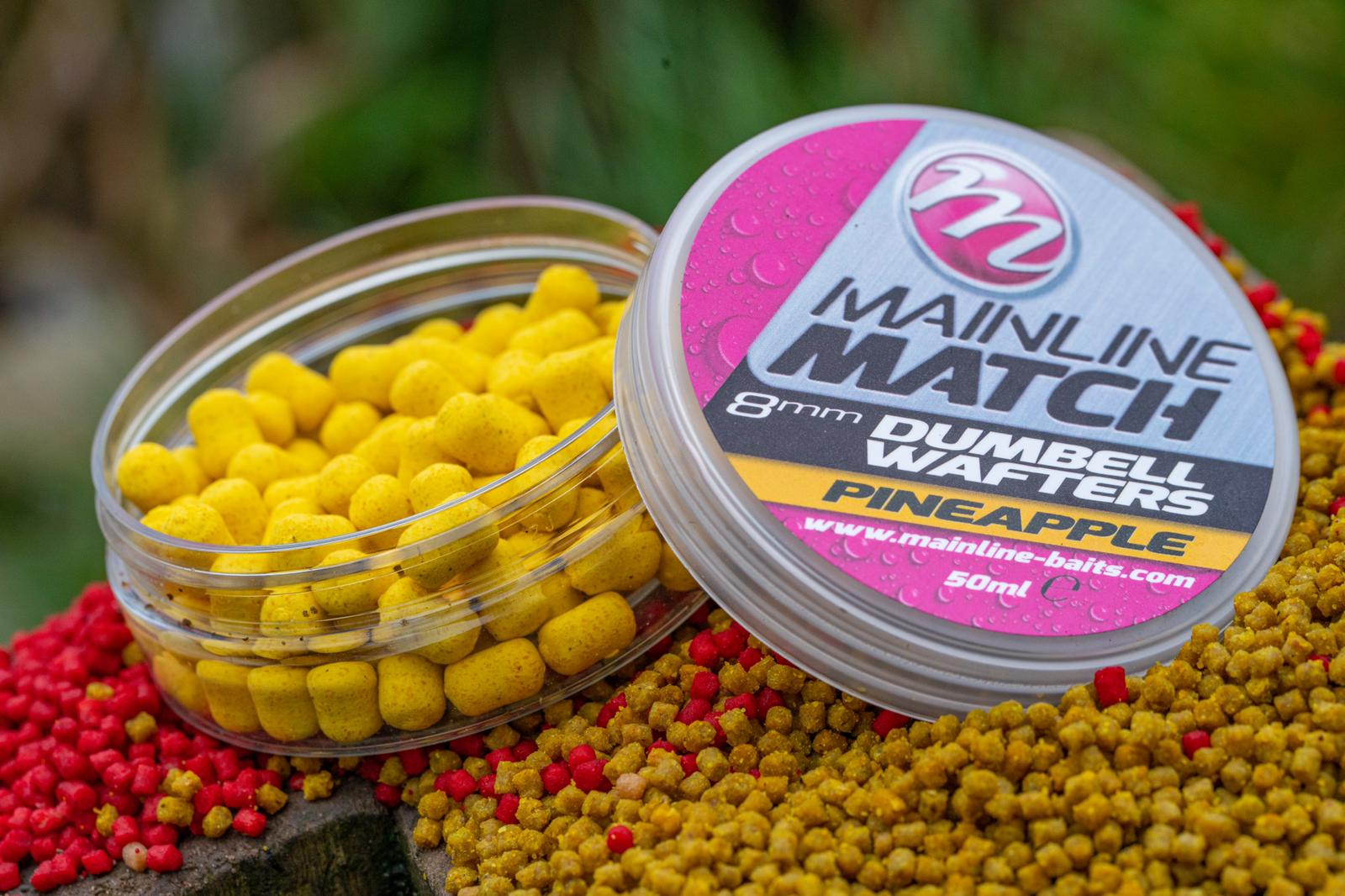 WAFTER MAINLINE MATCH DUMBELL YELLOW PINEAPPLE 8MM - A0.M.MM3108