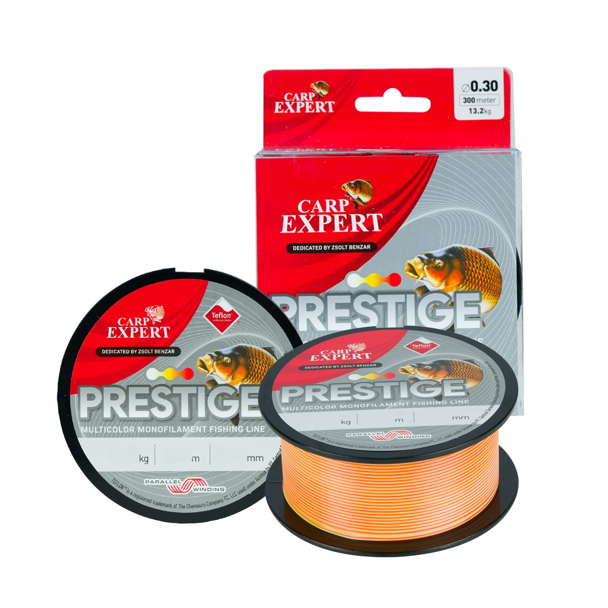 Fir Monofilament Carp Expert Prestige Multicolor 0,30mm / 300m / 13,2 kg - 30126030