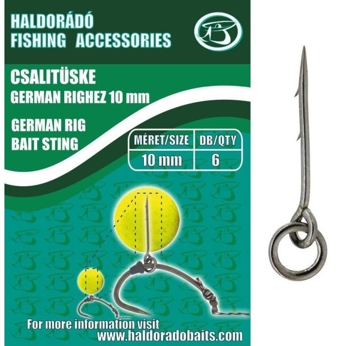 HALDORADO SPIN DE MOMEALA GERMAN RIG 15MM, - HD815-GRIG