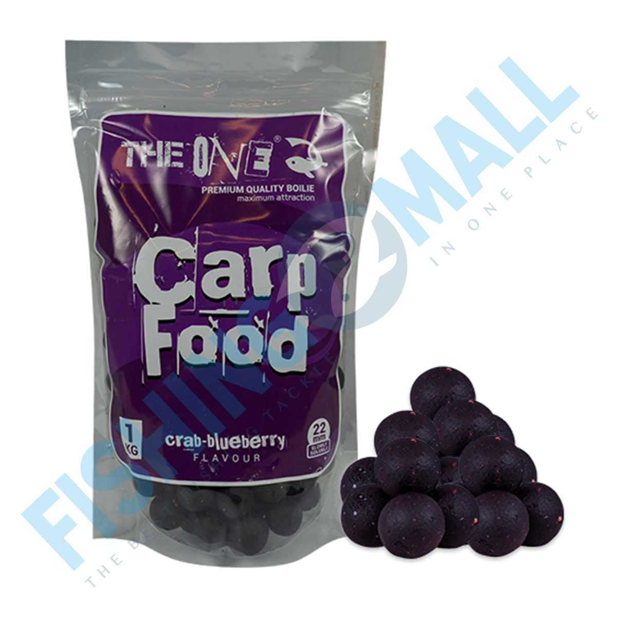 BOILIES THE ONE FOOD PURPLE SOLUBILE 22MM 1KG - 98037522