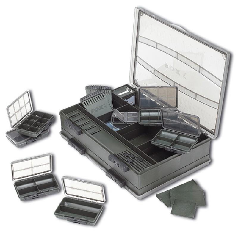 SET CUTII PENTRU ACCESORII FOX F-BOX DELUXE LARGE DOUBLE - CBX001
