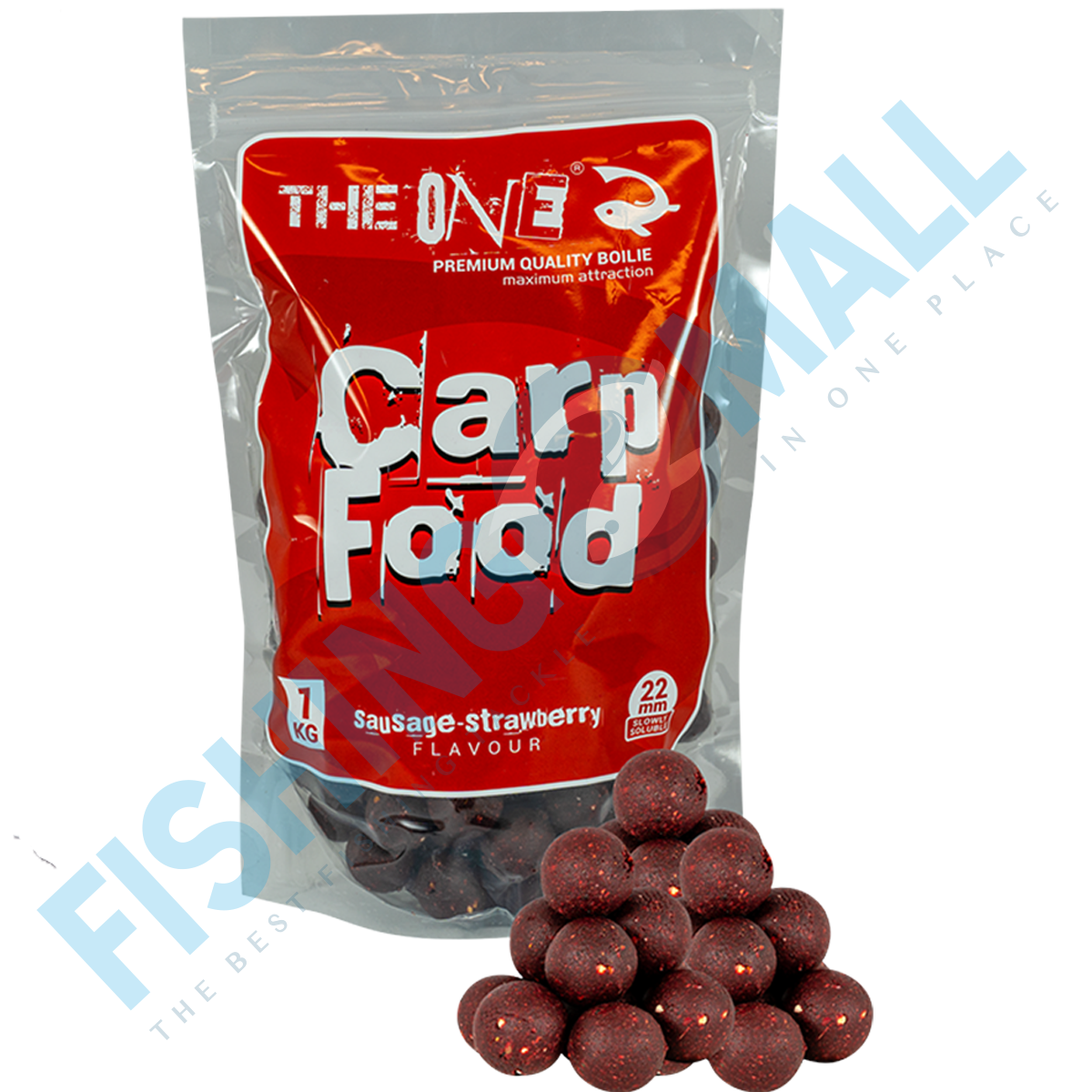 BOILIES THE ONE FOOD RED SOLUBILE 22M 1KG - 98037122