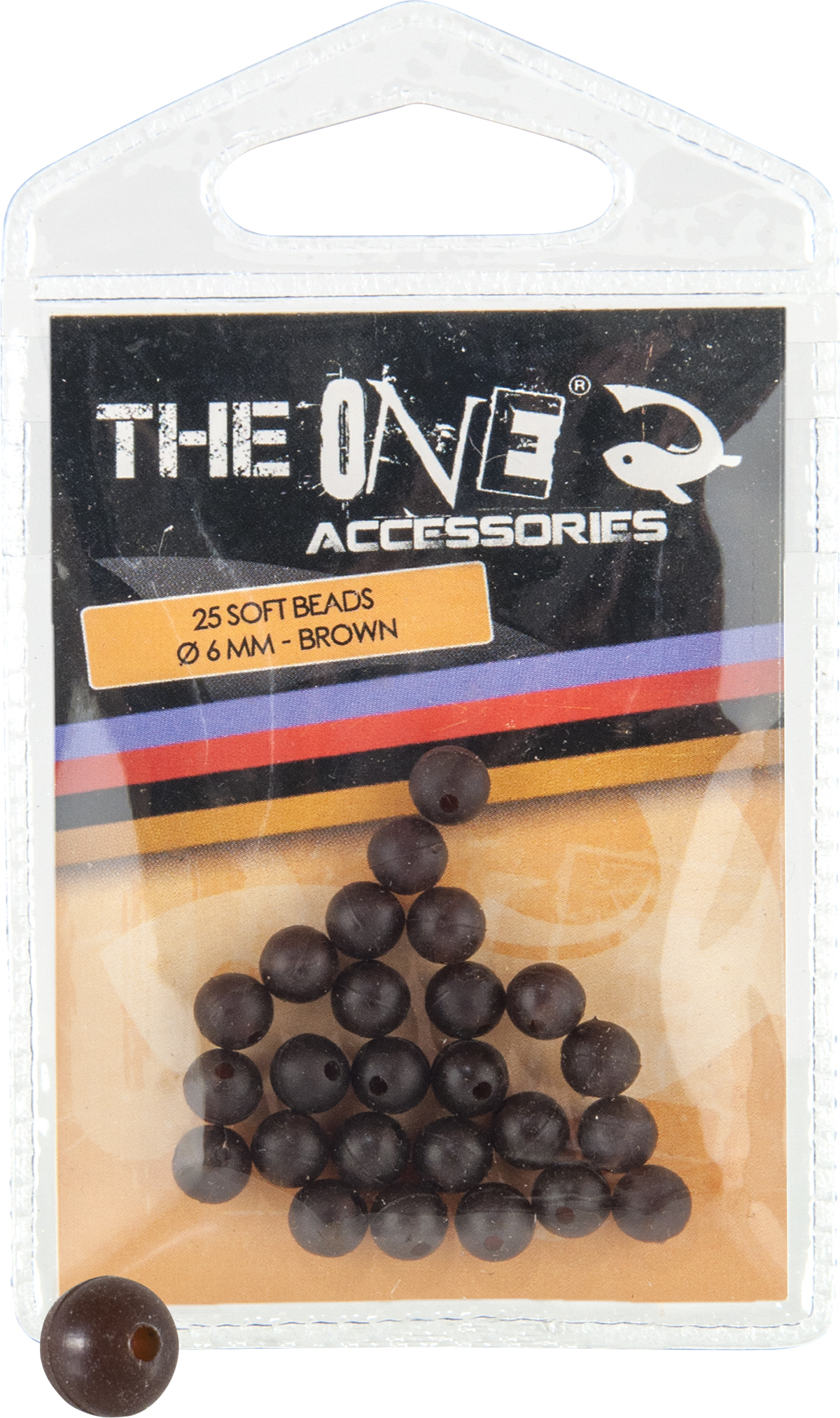 OPRITOR THE ONE SOFT BEADS 6mm MARO - 79017916
