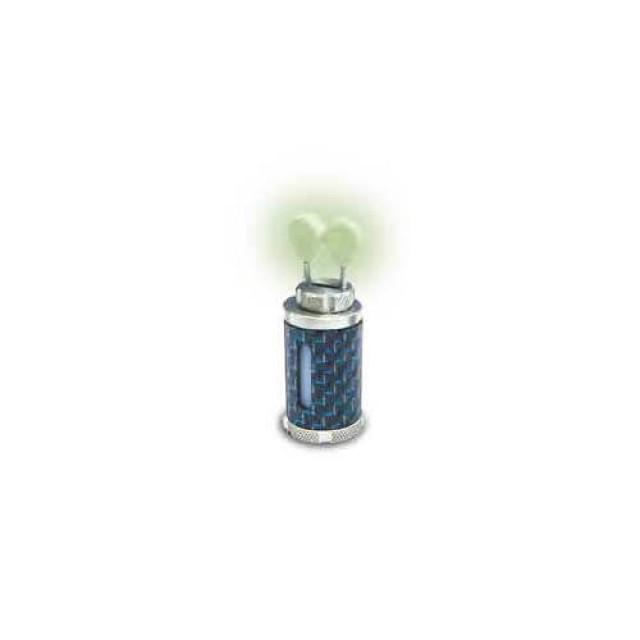 CAP SWINGER SOLAR CARBON INDICATOR HEAD BLUE/LARGE - TH25