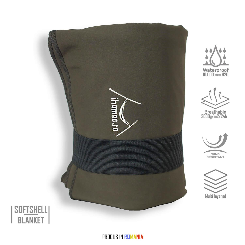 Patura din softshell-brown - IHA01