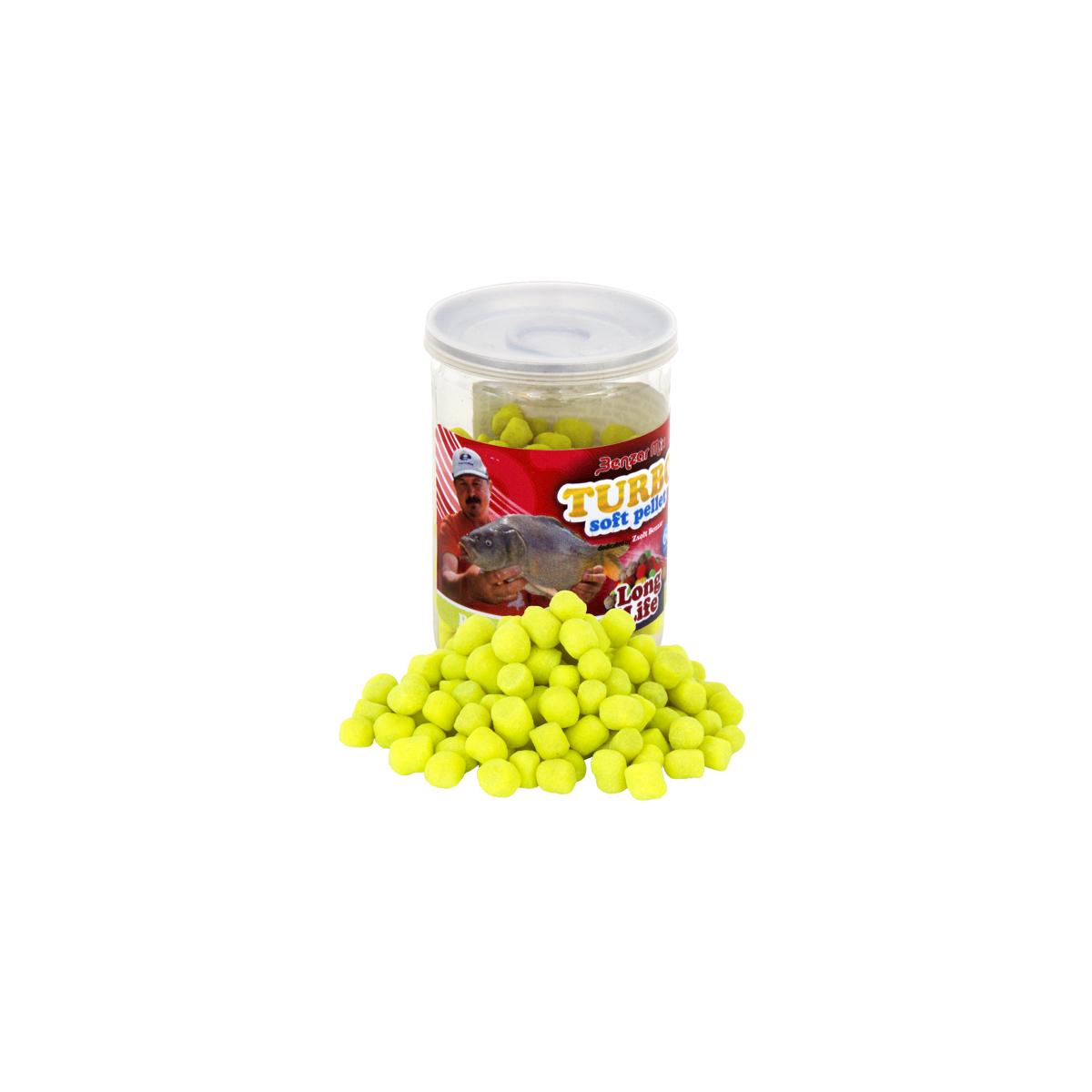 PELETE DE CARLIG Benzar Mix Turbo Soft Pellet Long Life Ananas - 98085925