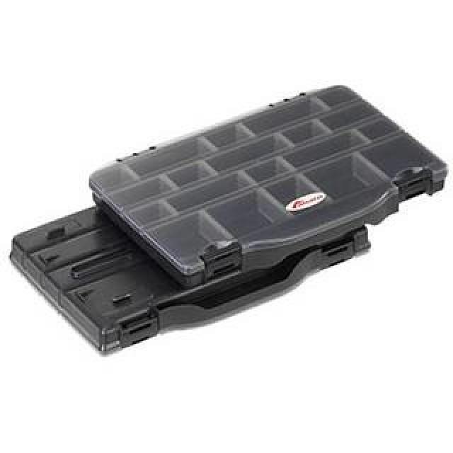 SET 2 CUTII PLASTICA PANARO 8/32 COMPARTIMENTATE AJUSTABILE 276X186X59MM - A4.P396