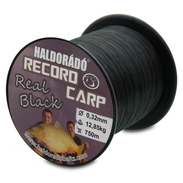 Haldorado Record Carp Real Black 0,32 mm / 750 m - 12,85 kg - HDRCRB-32