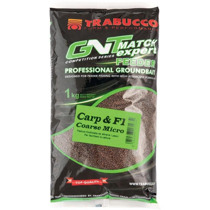 PELETE TRABUCCO CARP & F1 COARSE 1kg / crap-caras-platica / punga micro - 060-09-500