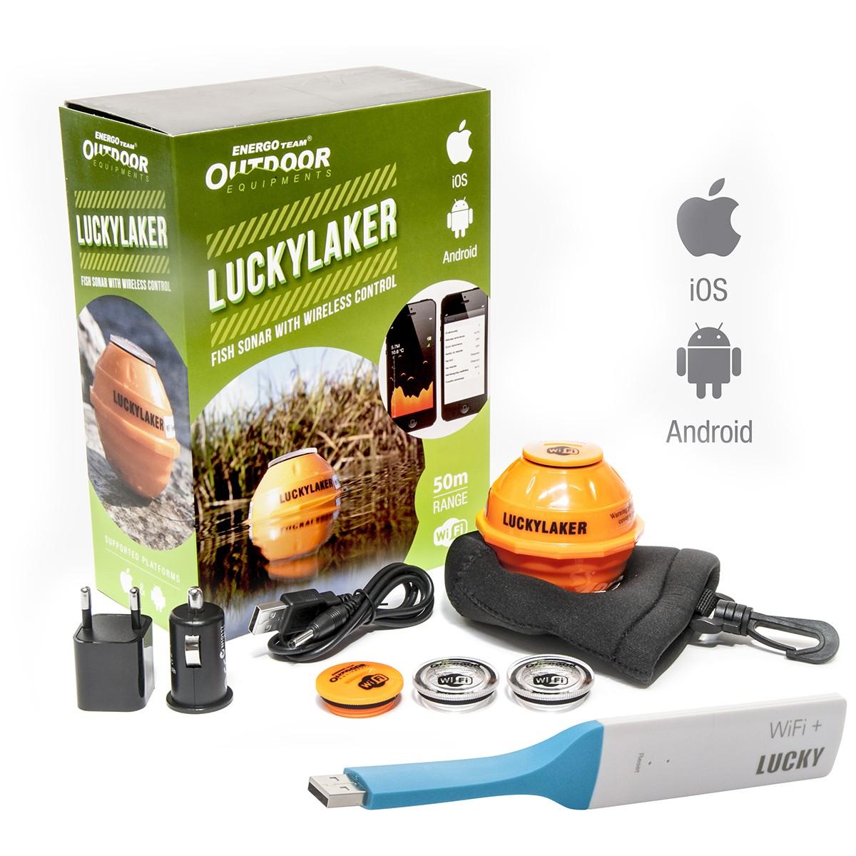 SONAR WIFI SMART ENERGO TEAM OUTDOOR LUCKY LAKER - 74871100