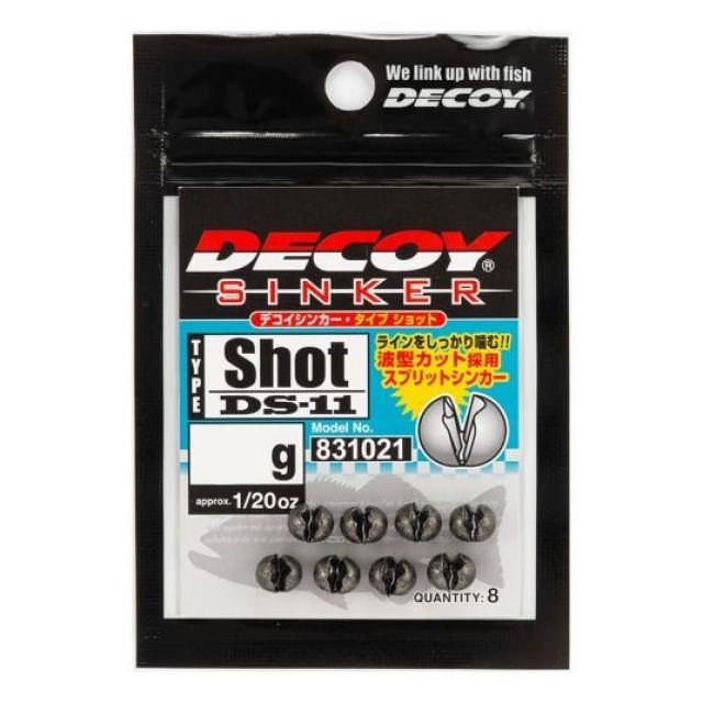 PLUMBI DECOY DS-11 SINKER TYPE SHOT 0.6gr , 10BUC / PLIC - 831007