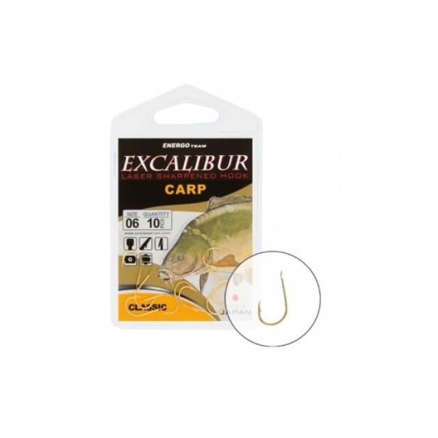 CARLIGE EXCALIBUR CARP CLASSIC GOLD NR 4 - 47015004