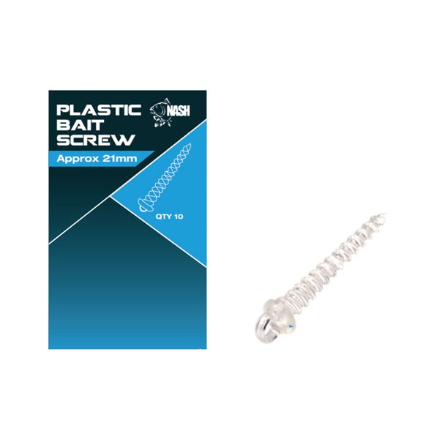 SURUB NASH PENTRU POP-UP PLASTIC BAIT SCREWS 21mm - T8100