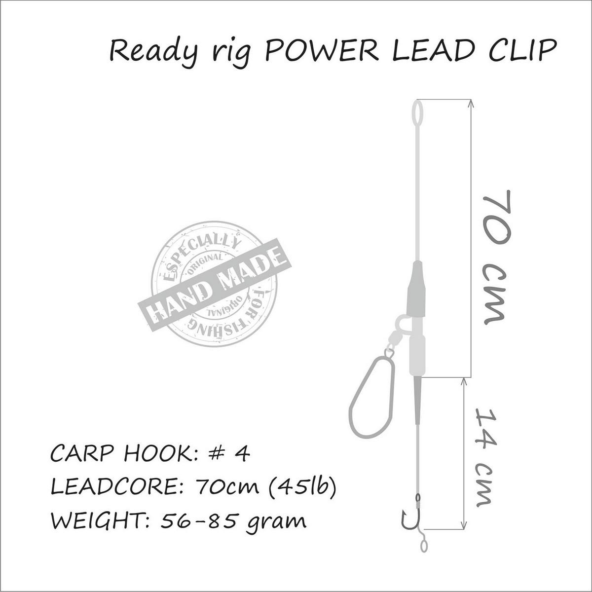MONTURA LIFE-ORANGE POWER LEAD CLIP 85G - OEMF3-985
