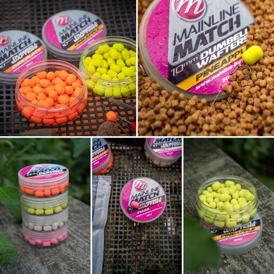 WAFTER MAINLINE MATCH DUMBELL ORANGE CHOCOLATE 10MM - A0.M.MM3113