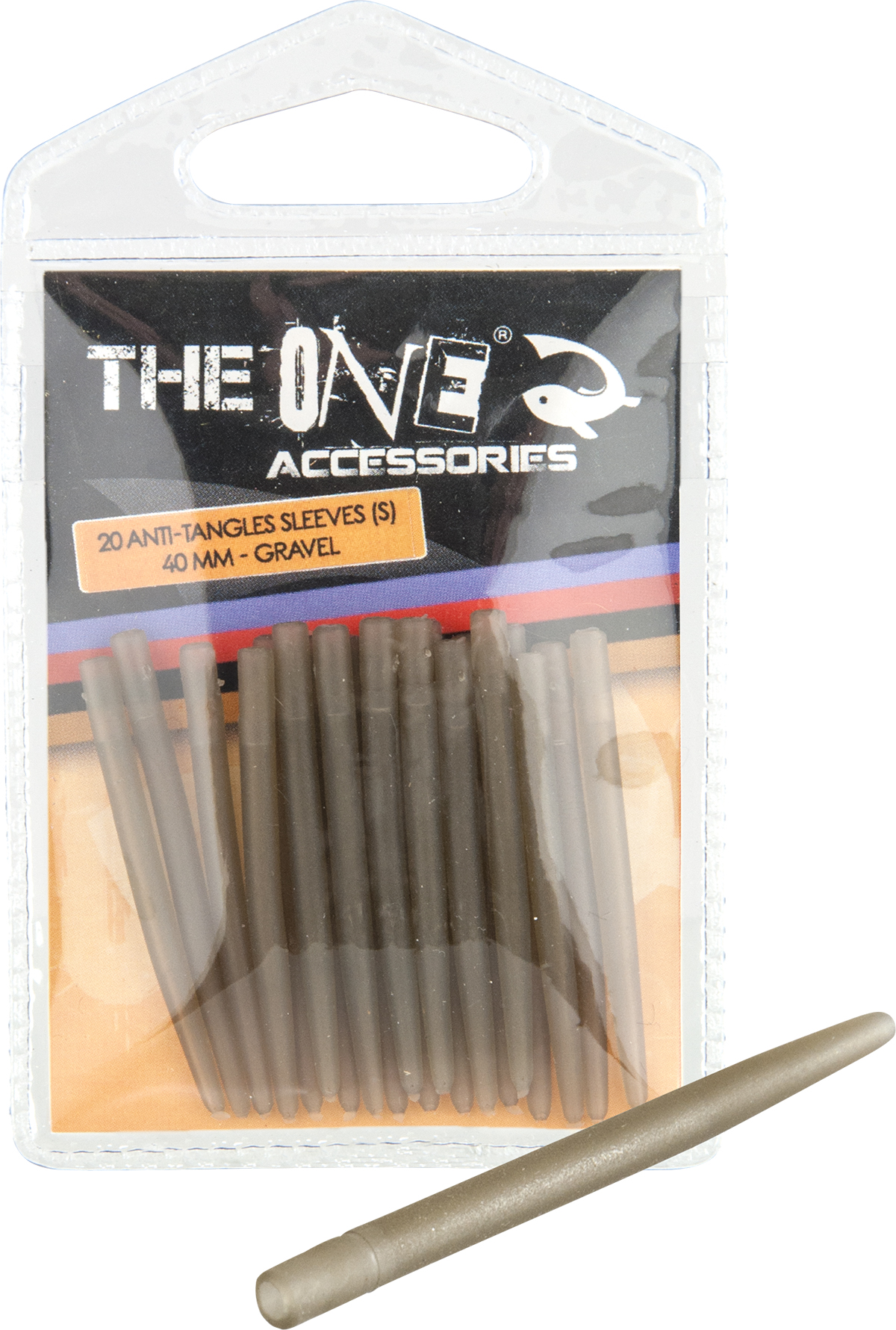 CONURI THE ONE ANTI-TANGLES SLEEVES 40mm GREVEL 20db - 79040042