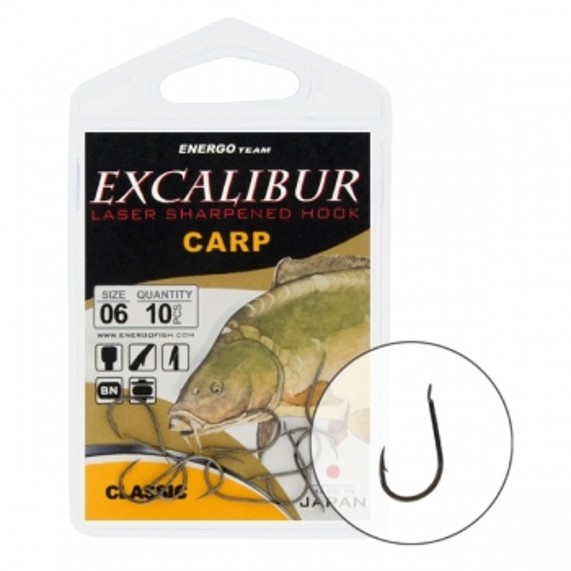 CARLIGE EXCALIBUR CARP CLASSIC NS NR 6 - 47020006